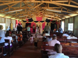 Worship service at Dagoretti Corner Vineyard